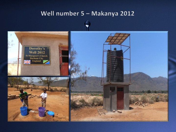 Well No.5 – Makanya Primary School in Same District (January 2010)