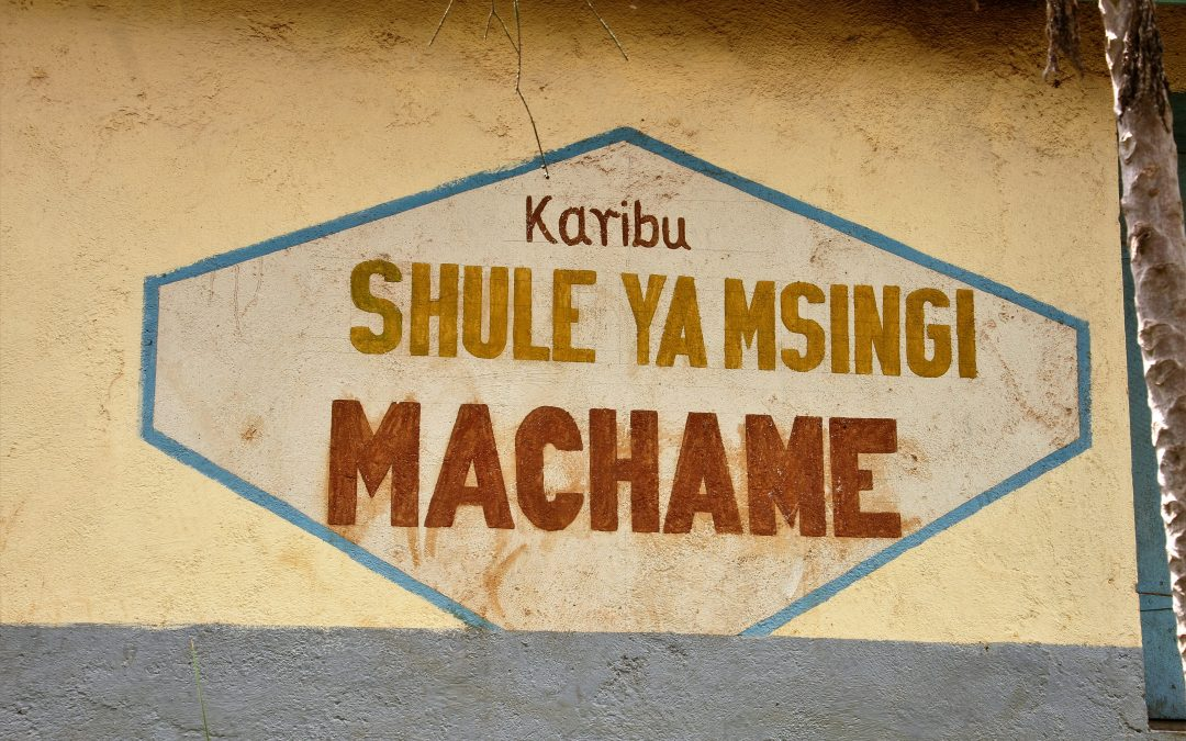 Well No.3 – Machame Primary School in Hai District (February 2010)